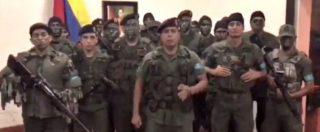 """Venezuela, gruppo militari assalta base a Valencia: 2 morti, 8 arresti. Maduro chiede """"la massima pena"""" per i ribelli"""