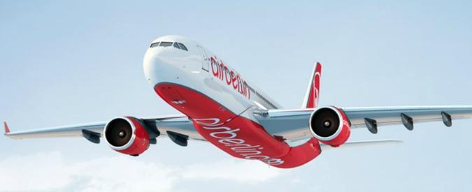 Air Berlin, dal governo tedesco 150 milioni di aiuti di Stato per sostenere la compagnia in bancarotta
