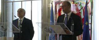 """Libia, Alfano: """"Non è una partita da serie B. Ora diventi una priorità e l'Onu assuma leadership"""""""