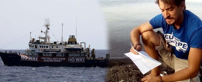 Defend Europe minaccia i giornalisti. Cari razzisti del mare, Andrea Palladino non è solo
