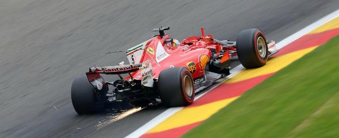 Formula 1, qualifiche Gp Belgio: Hamilton conquista la pole ed eguaglia il record di Schumacher, Vettel è subito dietro