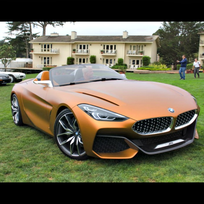 Bmw Z4 concept, un lampo illumina Pebble Beach – FOTO