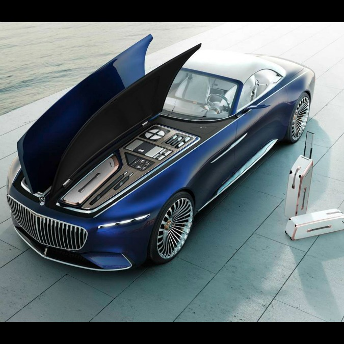 Maybach Vision 6, la yacht-cabriolet extra lusso a emissioni zero – FOTO