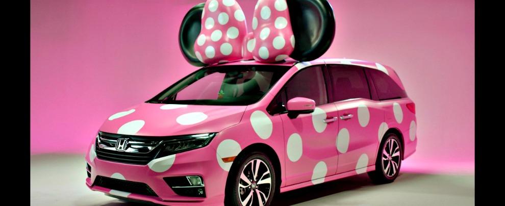 Minnie Van, la monovolume dei cartoni animati è firmata Honda – FOTO