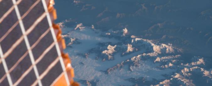Paolo Nespoli, prima foto della Terra dalla Cupola della Stazione Spaziale