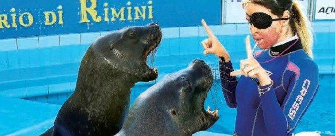 """Gessica Notaro, chiude il delfinario dove lavorava a Rimini. """"Permessi abusivi"""""""