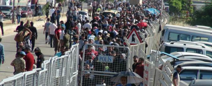 Codigoro vista da Kilis (Turchia): 100mila abitanti, 110mila profughi