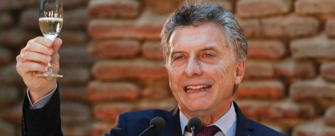 Argentina, le politiche di Mauricio Macri e 'la triste eredità degli italiani'