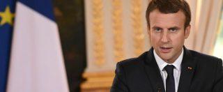 """Siria, Macron: """"Abbiamo le prove che Bashar Al Assad ha usato armi chimiche"""". Gentiloni: """"Italia non parteciperà ai raid"""""""