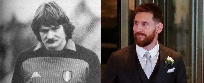 """Le nozze di Messi e """"Tito"""" Malgioglio"""