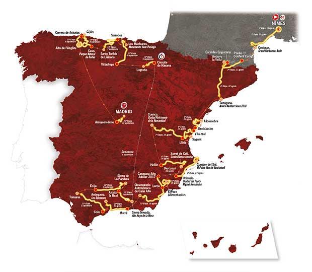 Vuelta a España 2017. Froome e gli altri si riposano