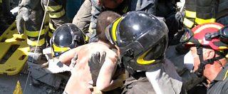 Terremoto a Ischia: 2 donne morte. Salvo bimbo di 7 mesi, i fratelli estratti vivi dopo oltre 16 ore (foto e video)