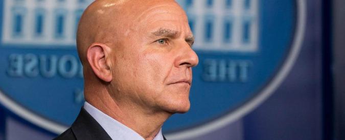 """Usa, Wp: """"Trump pronto a cacciare anche il consigliere per la sicurezza McMaster"""""""