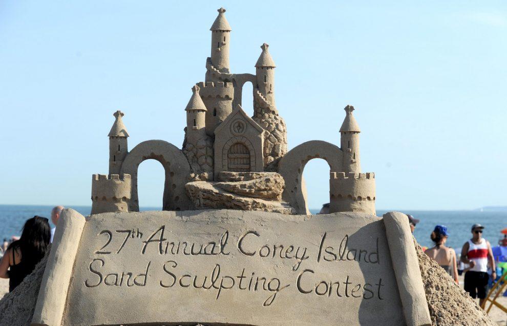 New York, Concorso Annuale di Sculture di Sabbia