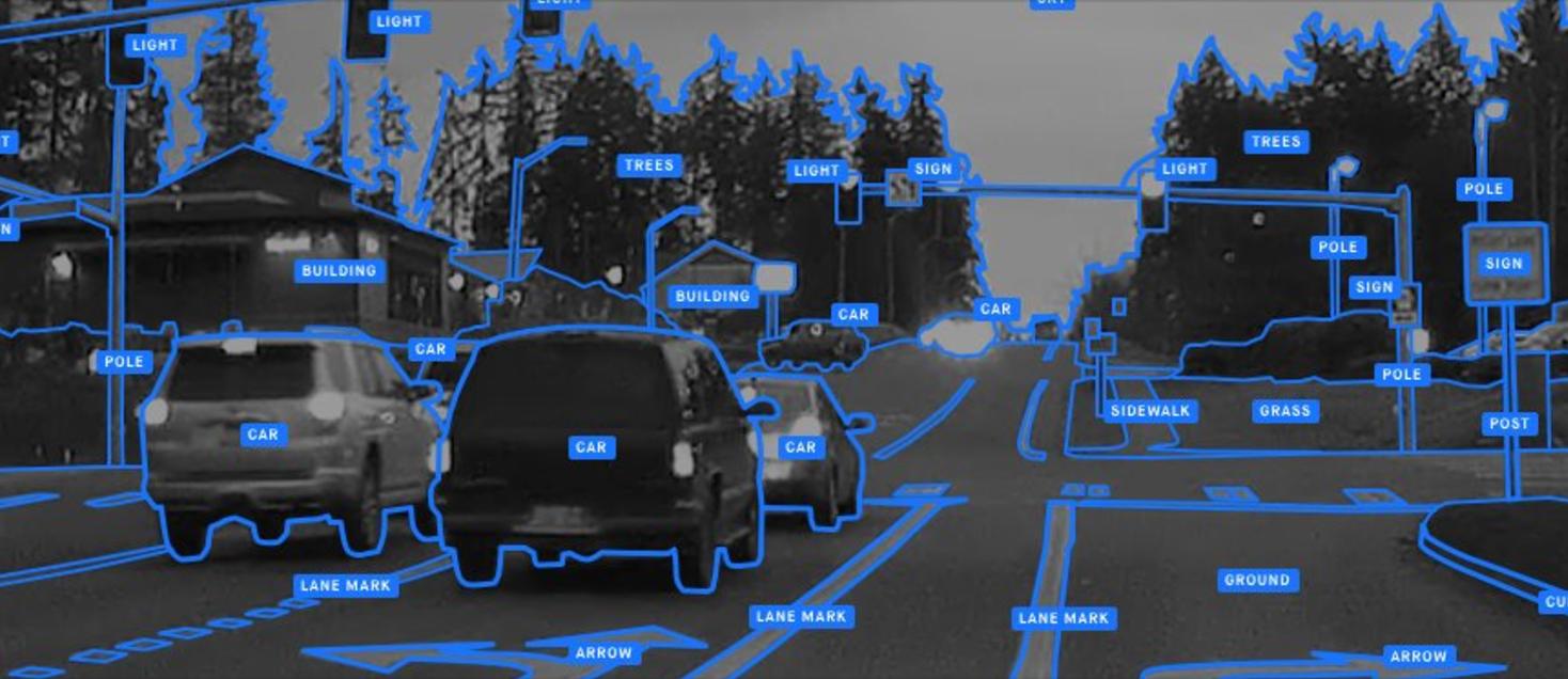 """Guida autonoma, ecco la app per smartphone che """"insegna"""" la realtà all'Intelligenza Artificiale"""