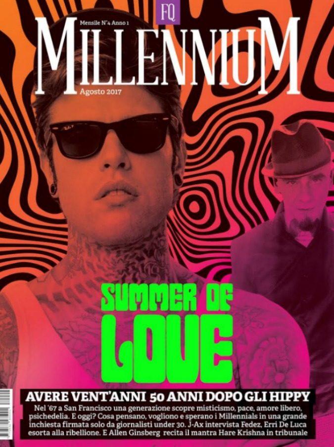 Millennium, sul numero in uscita sabato 5 agosto J-Ax intervista Fedez: dalla politica all'amore, le risposte (e le domande) che non ti aspetti