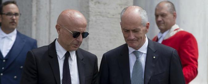 """""""Numero reati mai così basso negli ultimi 10 anni"""". Gabrielli e Minniti: """"Attenzione a minaccia terrorista"""""""