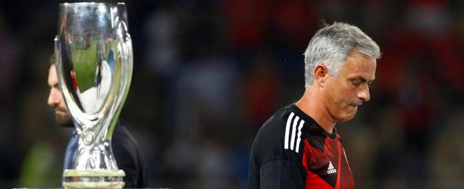 "Supercoppa europea, Real Madrid batte Manchester United 2-1. Mourinho: ""Gol irregolare, serve moviola in campo"""