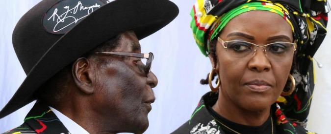 Mugabe, Sudafrica vieta espatrio alla moglie del presidente dello Zimbabwe: è accusata di aver picchiato una modella