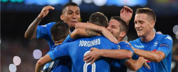 Champions League, il Napoli più vicino ai gironi: 2-0 al Nizza con Mertens-Jorginho