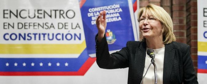Venezuela, l'ex procuratrice generale scappa in Colombia col marito. Caracas le aveva negato l'espatrio