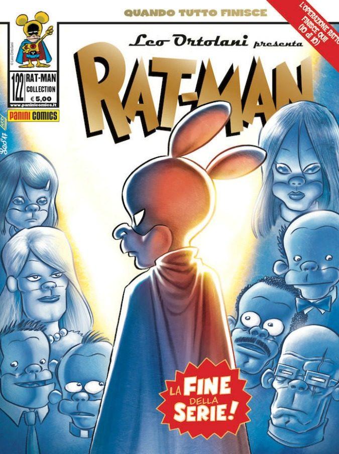 """Rat-Man, il 28 settembre si chiude la trentennale avventura di uno dei fumetti più amati d'Italia. Ortolani: """"E' finita. Mi sembrava giusto così"""""""