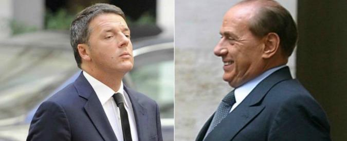 Renzi e il suo Pd che parla col vocabolario riciclato da Berlusconi: dalla barbarie alla patrimoniale fino agli anti-italiani