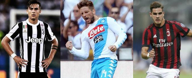 Serie A, la Juve e la crisi del settimo anno: il campionato è (finalmente) aperto. In pole il Napoli, sale l'entusiasmo del Milan