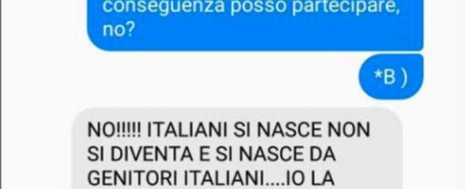 """Razzismo, 15enne con cittadinanza esclusa dal concorso di canto perché di colore: """"Italiani si nasce, non si diventa"""""""