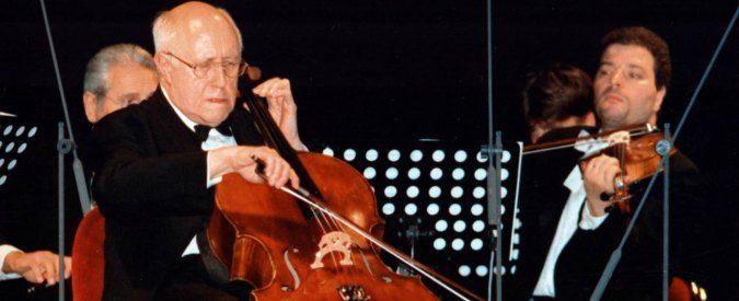 Mstislav Rostropovich, il viaggio del violoncellista errante nella musica del Novecento