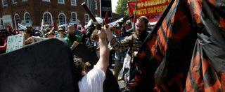 Usa, auto contro la folla durante una manifestazione dei suprematisti bianchi. Investiti i contestatori: un morto