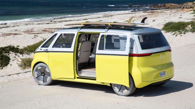 """Volkswagen, l'erede elettrico del """"vecchio"""" Bulli arriverà nel 2022 – FOTO"""