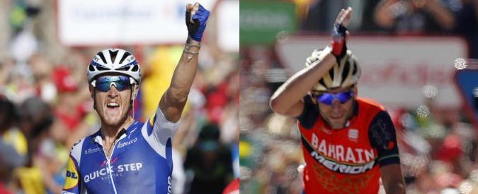 Ciclismo, Vuelta: Trentin vince la quarta tappa. Doppietta italiana dopo la vittoria di Nibali ad Andorra La Vella