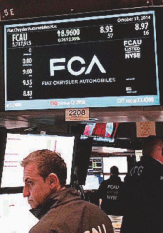 Interesse cinese per Fca: le voci pompano il titolo