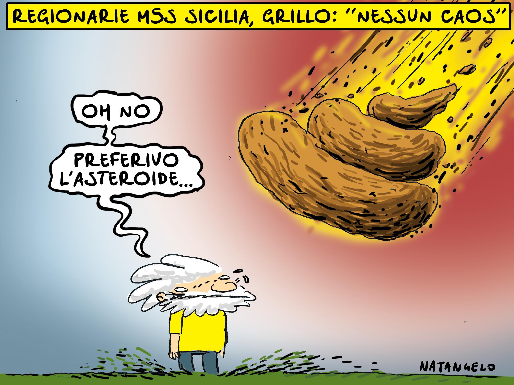 Altro spot, altro asteroide