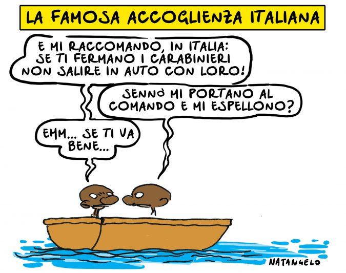Italiani, popolo accogliente