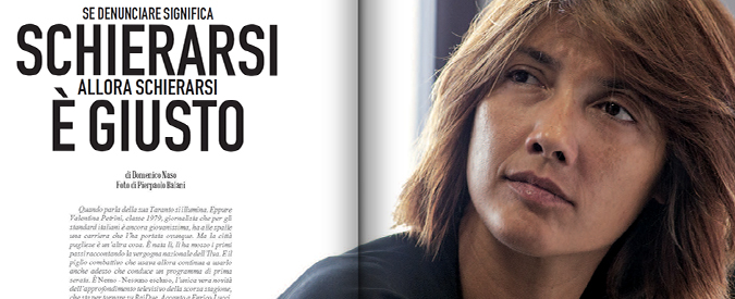 """Valentina Petrini: """"Il giornalismo è schierarsi contro l'ingiustizia"""". Su Fq MillenniuM in edicola"""