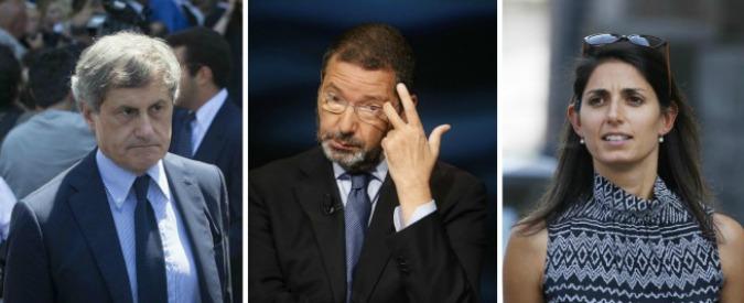 """Maltempo Roma, Raggi sotto attacco: """"Manutenzione sul 10% dei tombini"""". La replica: """"Colpa dei mutamenti climatici"""""""