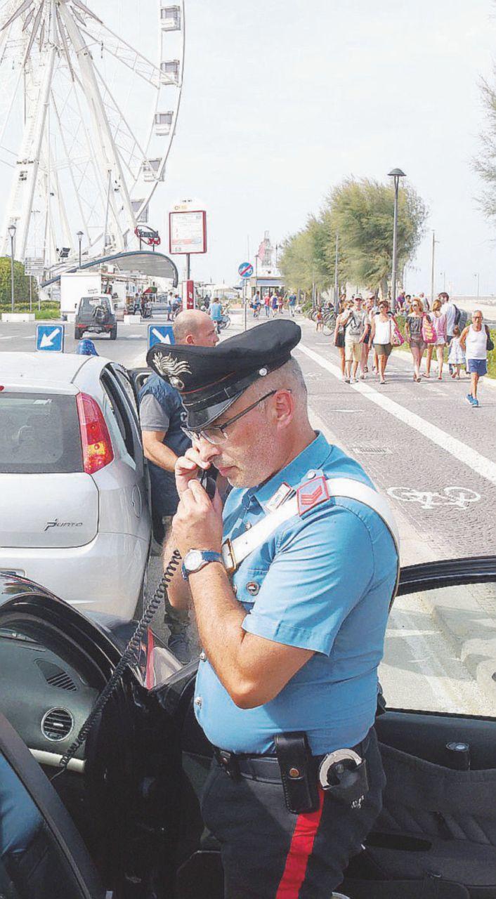 Un'altra violenza a Rimini, stavolta arrivano i carabinieri