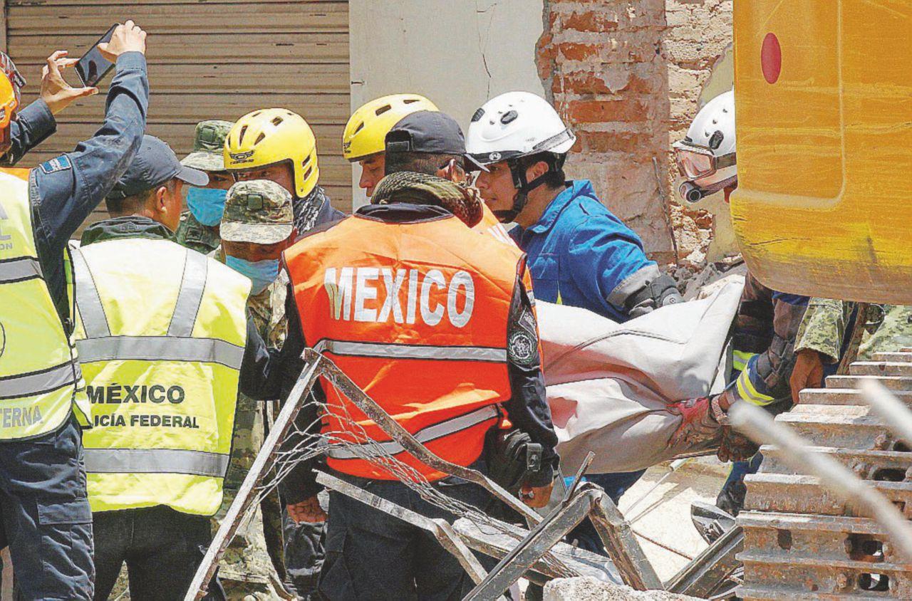 Sessantaquattro morti nel sisma in Messico