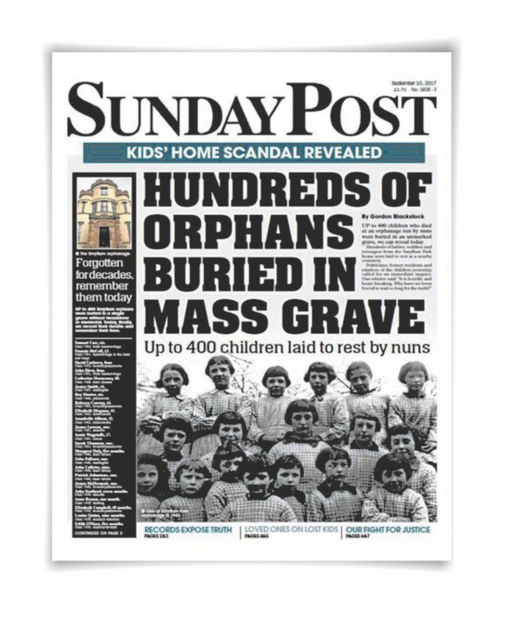 Orrore in Scozia: una fossa comune con 400 bimbi nell'ex orfanatrofio