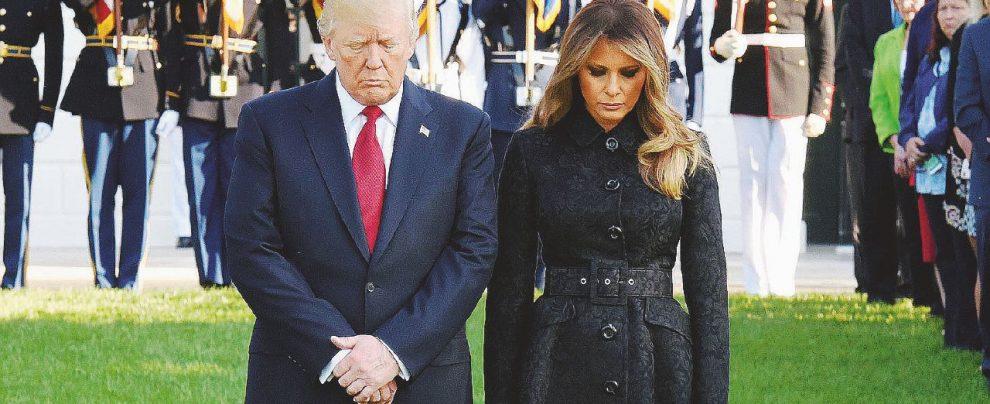 L'America piange ancora: ma Trump divide anche l'11/9