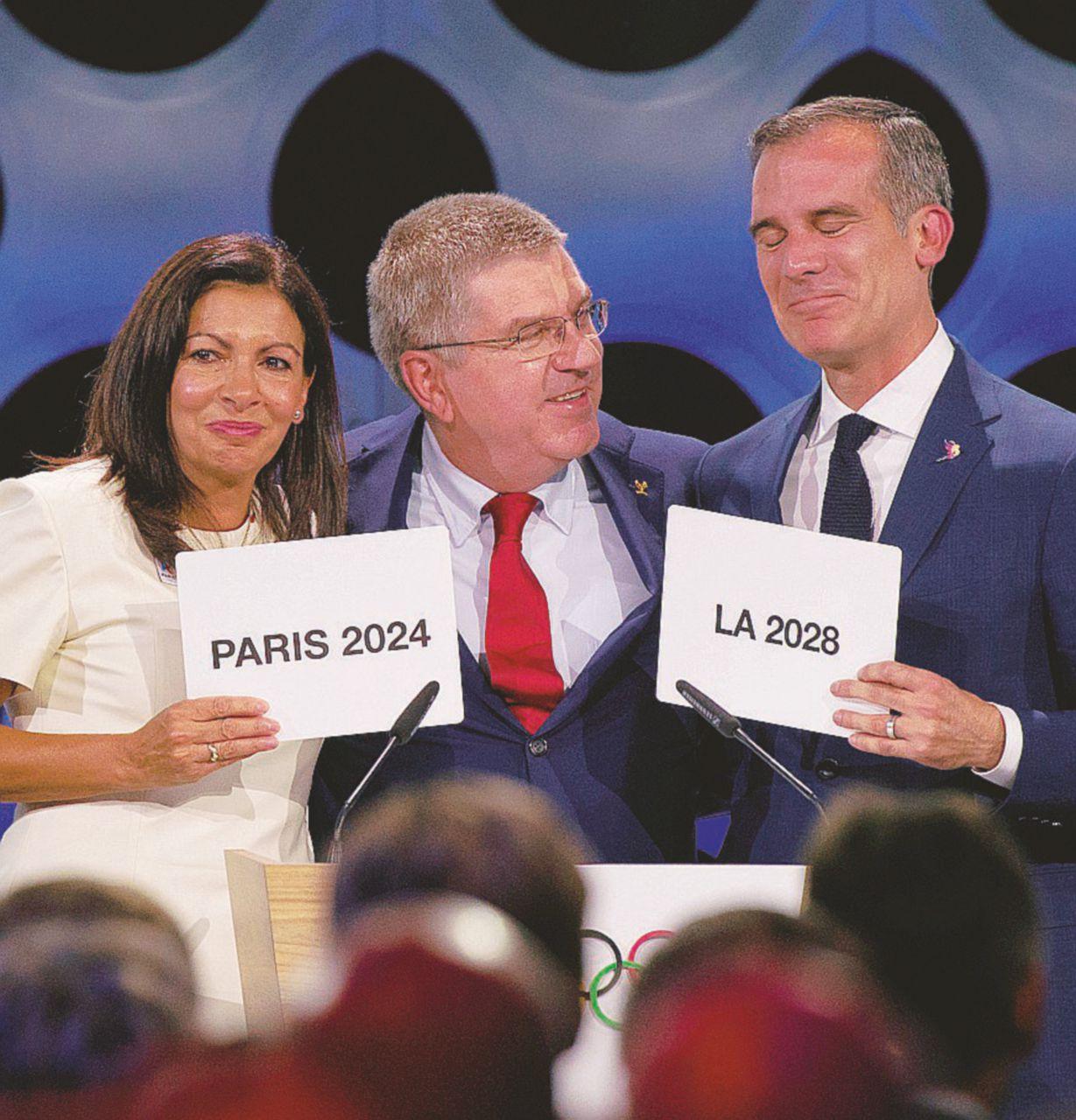 Le Olimpiadi in svendita: Parigi 2024, poi negli Usa