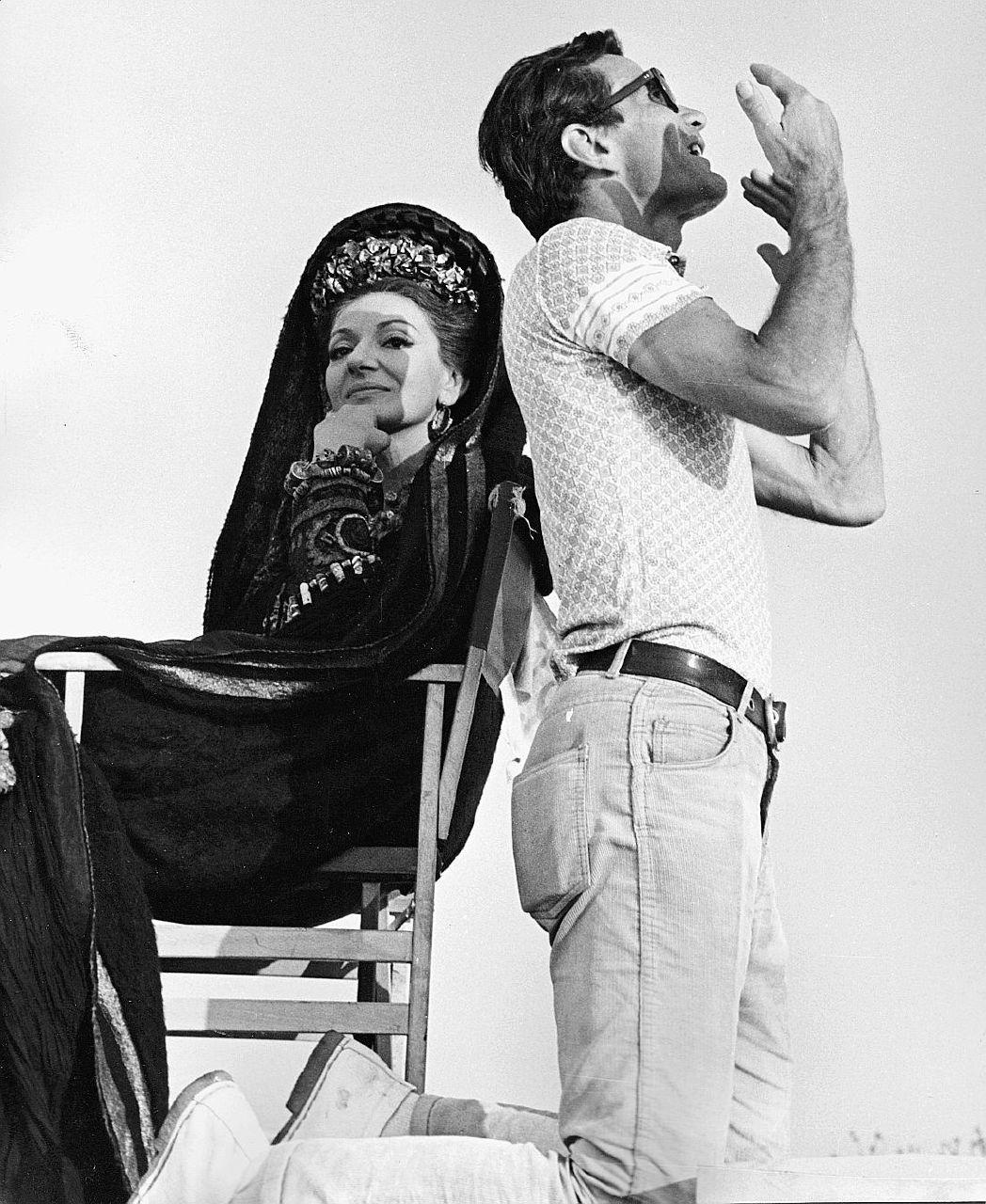 """Maria Callas, la Medea bambina che tentò di """"guarire"""" Pasolini"""