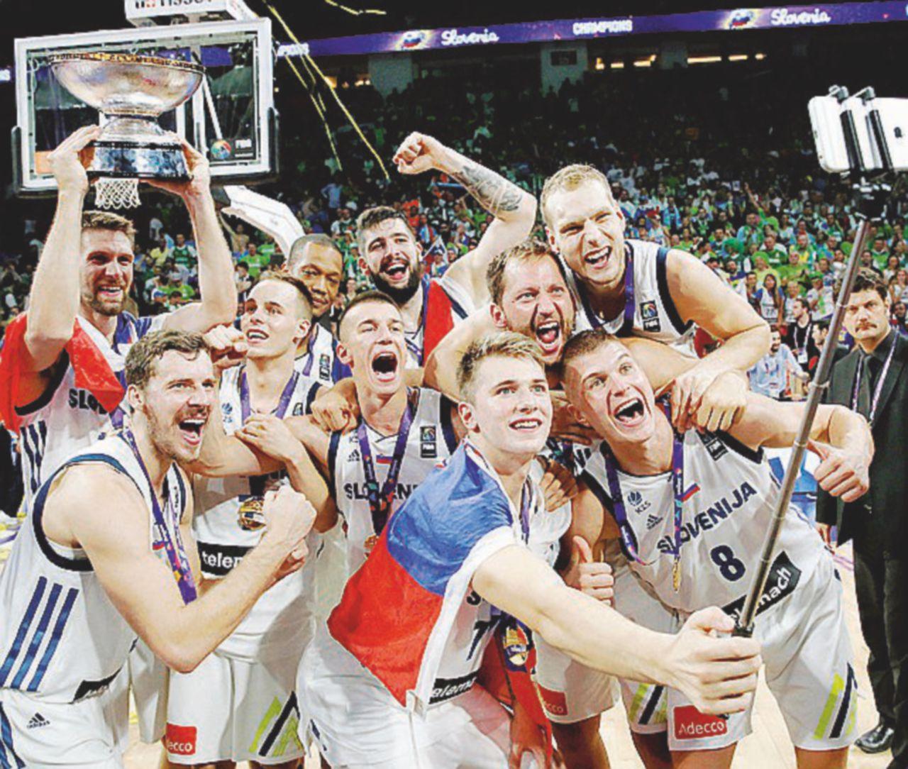 È la Slovenia modello Nba che trionfa nel basket europeo