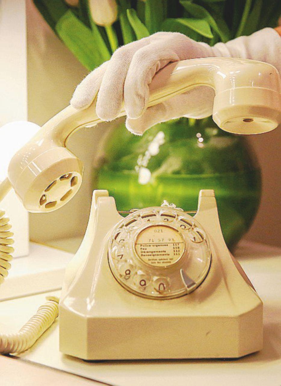 Il telefono a casa serve solo per la connessione