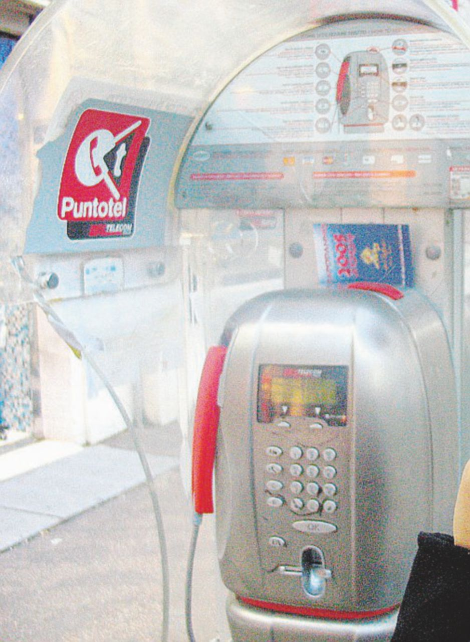 La cabina telefonica, il nulla in confronto con il cellulare