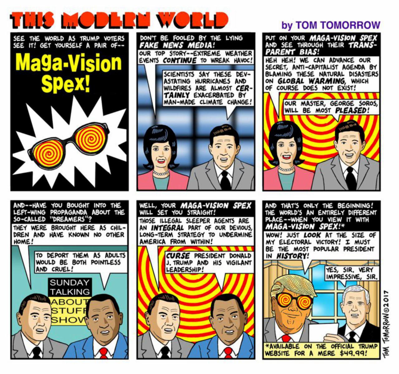 """""""Maga Vision Spex"""" e vedi grande l'America"""
