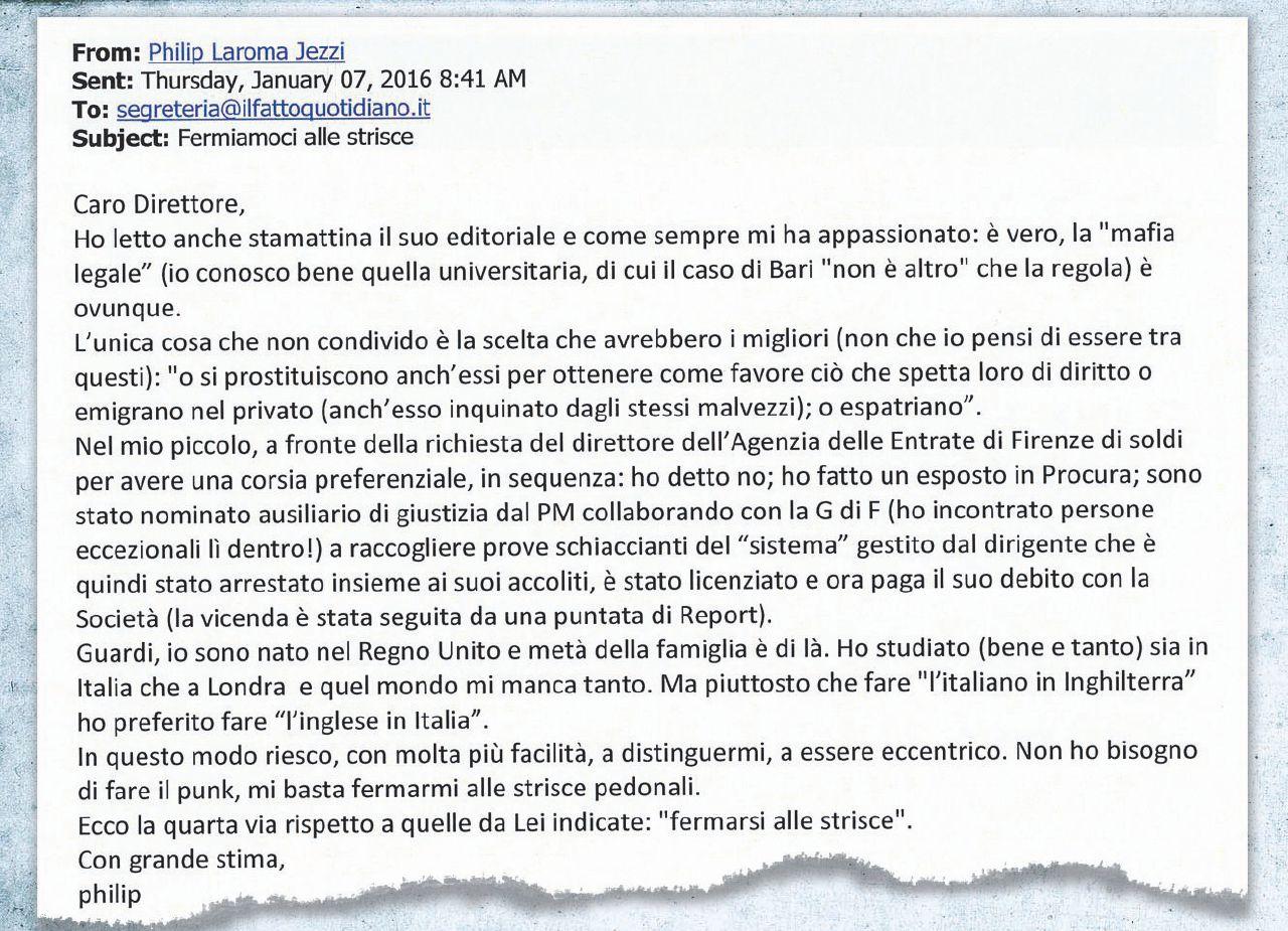 """Firenze Università, concorsi truccati – Philip ha denunciato tutti: """"Sì, faccio l'inglese in Italia"""""""