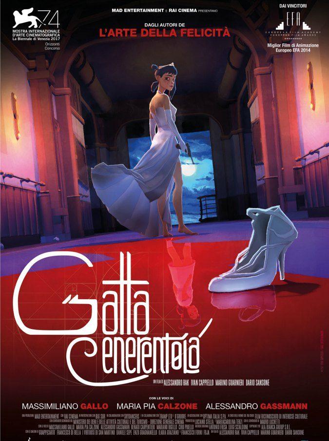 Mostra del Cinema di Venezia 2017, ecco la Gatta Cenerentola animata e in versione noir con una Napoli coperta di cenere